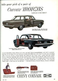 Woman's day 61 corvair