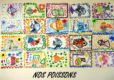 Le Journal de Chrys: Nos poissons