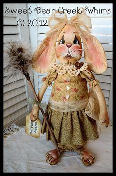 Primitive Bunny E-PATTERN Spring Rabbit by SweetBearCreekWhims