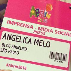 #angeliicapontocom Hoje foi dia de #job lá na #Abrin2016!