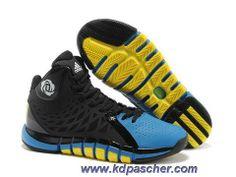 Adidas Derrick Rose 773 II Noir Jaune Q33231 Vente