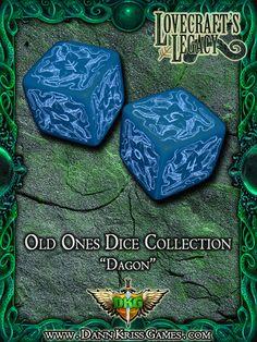 """""""Dagon"""" Old Ones Dice Design"""