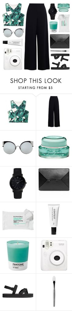 """""""#73"""" by zarcarla ❤ liked on Polyvore featuring Zimmermann, Fendi, Freeze 24-7, Larsson & Jennings, J.W. Anderson, Sephora Collection, Context, Pantone, H&M and esum"""