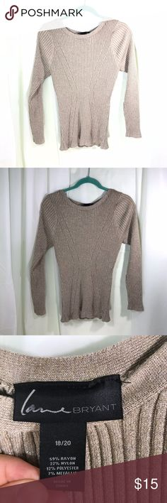 9ede6762b0e Lane Bryant Long Sleeve Top Size 18 20 THANK YOU FOR STOPPING BY!