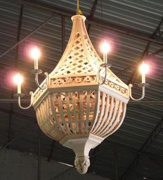Luminaires | Accents of France - Treillage
