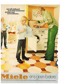 Miele 1970's vintage reclame