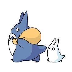 My Neighbor Totoro Inspired Chu And Chibi Totoro by NamelessVinyl Studio Ghibli Art, Studio Ghibli Movies, Anime Stickers, Cute Stickers, My Neighbor Totoro Characters, Totoro Drawing, Ed Wallpaper, Personajes Studio Ghibli, Spirited Away