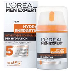 Men Expert Hydra Energetic Daily Anti-Fatigue Moisturising Lotion - L'Oreal - Men Expert - Day Care - 50ml/1.6oz ^^ Additional info  : Creams and Moisturizers