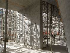 steven holl architects: glasgow school of art tops out