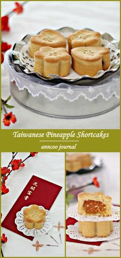 Taiwanese Pineapple Shortcakes