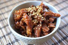 Pork Shigureni with Sesame Recipe