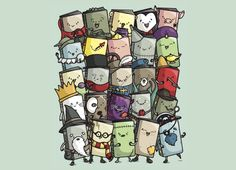 """Storytellers"" - Threadless.com - Best t-shirts in the world"