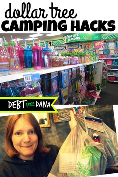 Dollar Tree Camping Hacks