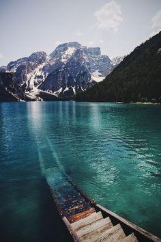 ღღ Lake Braies, Dolomiti, Italy