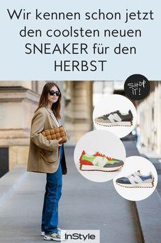 Vom New Balance gibt's mit dem Modell 327 einen genialen neuen Schuh Trend. Wetten, den coolen Sneaker sehen wir im Herbst überall. #instyle #instylegermany #sneaker #schuhe #schuhtrend #newbalance #newbalance327