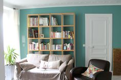 Idee Couleur Peinture Chambre bleu canard
