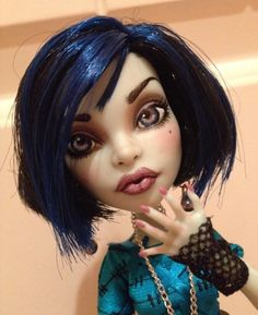 Monster High Scarah Ooak Custom Repaint By Bordello