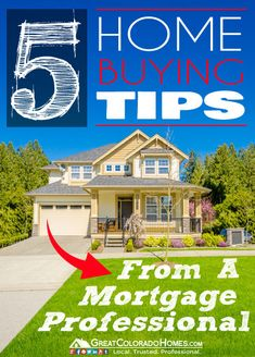 5 Home Buying Tips from a Professional Mortgage Broker. #realestate