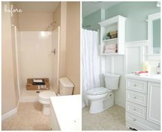 Lowe's Bathroom Makeover - Reveal - The Golden Sycamore