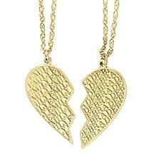 Split Heart Necklace