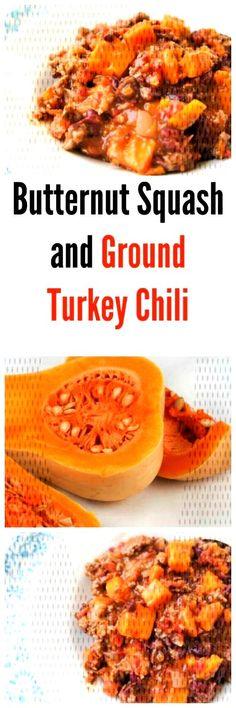 #groundturkeytacos #paleodinner #compliant #butternut #turkey #squash #change #ground #chili #whole #beans #sk... Ground Turkey Chili, Paleo Dinner, Butternut Squash, Cantaloupe, Beans, Change, Fruit, Food, Turkey Mince Chilli