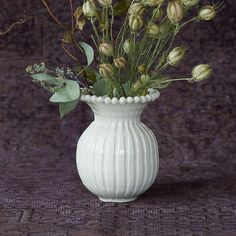 Frances Palmer Beaded Edge Vase in House + Home Vases + Accents at Terrain
