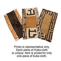 Kuba Cloth: Small