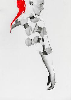 richard kilroy fashion illustrations - Google Search