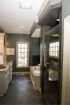 House Plan # 120-2148 master bathroom
