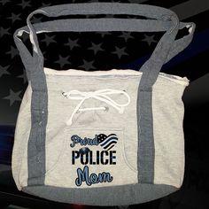 Proud Police Hoodie Bag