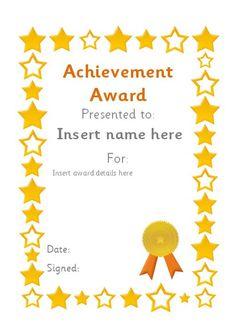 Free Certificate Templates   Blank Certificates - Free Printable ...