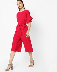 b7ed688a8a3f Buy Jumpsuits online India. Playsuits   Jumpsuits for women at Ajio.com