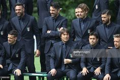 Players of Italy pose for a team photo ahead of the UEFA Euro 2016 at Coverciano on June 1, 2016 in Florence, Italy.