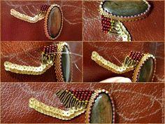 Мастер-класс: необычное колье-мотылек «Мезозой» своими руками - Ярмарка Мастеров - ручная работа, handmade