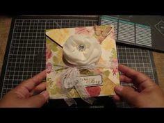 ▶ Explosion Envelope using Envelope punch board YouTube video by Bona