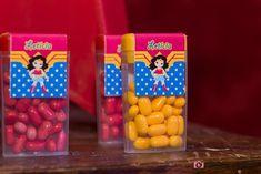 tic tac personalizado Wonder Woman Birthday, Wonder Woman Party, Birthday Woman, Superhero Birthday Party, 6th Birthday Parties, Happy Birthday, Tic Tac, Ladies Party, First Birthdays