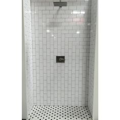 White and Black Mixed Hexagon Porcelain Mosaic - 12in. x 12in. - 912100650 | Floor and Decor