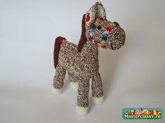 Horse Amigurumi Free Russian Pattern ~ Phototutorial step by step