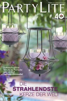 PartyLite Candles, Candle Holders, Home Party, Direct Selling Bougie Partylite, Bougie Candle, Hanging Candle Lanterns, Metal Lanterns, Garden Lanterns, Hanging Lamps, Led Candles, Pink Garden, Dream Garden