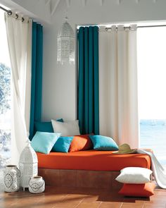 Orange + Blue — with a view!