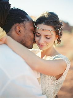 bride and groom from Nevada wedding http://trendybride.net/nevada-real-wedding-magazine-feature/ {trendy bride}