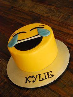 Emoji cake and emoji cupcakes. Cake & Dreams: Emoji Cake and Cupcakes