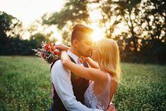 analog photography / film wedding portraits / wedding photography