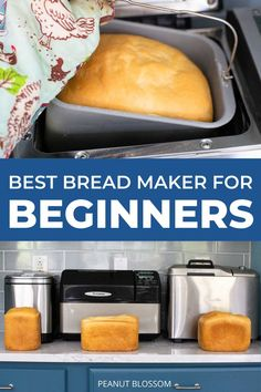 Looking for a new bread machine for your family? If you're shopping for a bread maker, be sure to read these reviews of the best bread machines on the market for 2021. Side by side comparisons from the most-loved machines we tested with hundreds of bread machine recipes. Easy Bread Machine Recipes, Best Bread Machine, Dinner Side Dishes, Dinner Sides, Family Meals, Kids Meals, Delicious Sandwiches, Recipes For Beginners, Dinner Rolls