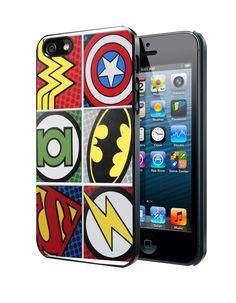Pop Comic Super Hero Logo Samsung Galaxy S3/ S4 case, iPhone 4/4S / 5/ 5s/ 5c case, iPod Touch 4 / 5 case
