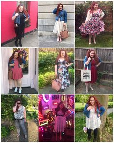My Month In Outfits: What I Wore in April   April was a brilliant month! To be honest it's the first time I have felt like myself in a really long time - I can feel my usual cheerfulness and interest in life returning and after a long battle with depression and anxiety that is kinda a big deal! I got out and about much more I got dressed up more and I totally milked my birthday with waaaaaay more celebrations than are merited for a 33rd! But it was marvelous! And here's what I wore…