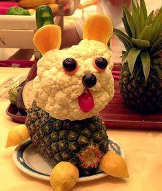 escultura de frutas e verduras - Pesquisa Google