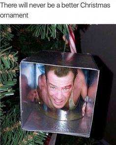 Die hard best christmas decoration ever - http://jokideo.com/die-hard-best-christmas-decoration-ever/