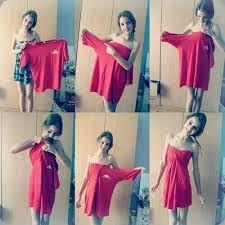 simple y bonito vestido es muy facil :)