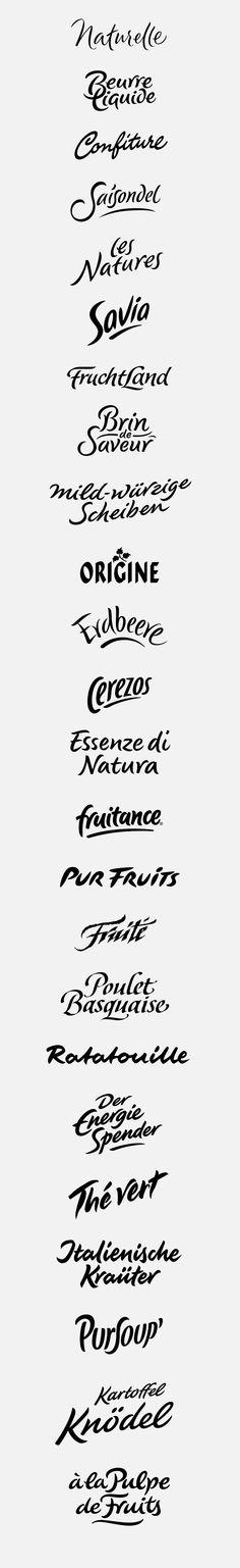 logotypes: natural, organic by Peter Becker, via Behance